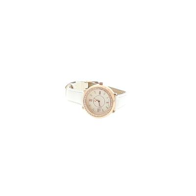 Unbranded - Watch: White Solid Accessories