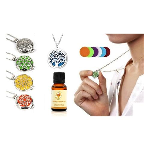Aroma-Diffusor-Halskette: Halskette/ Lebensbaum
