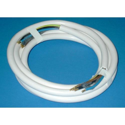 Herdanschlusskabel H05VV-F 5 G 2,5 - 5 Meter, weiß