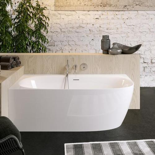 PREMIUM 200 Eck-Badewanne mit Verkleidung L: 170 B: 80 H: 59 cm, Raumecke links PR1260