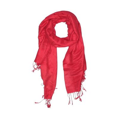 R Fashion Apparel Scarf: Red Solid Accessories