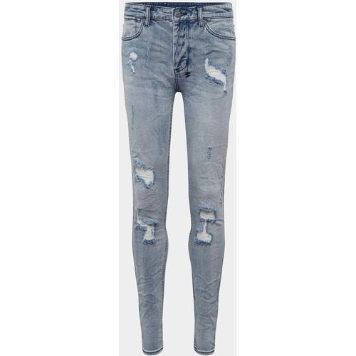 Ksubi Skinny Fit Jeans im Used-Look