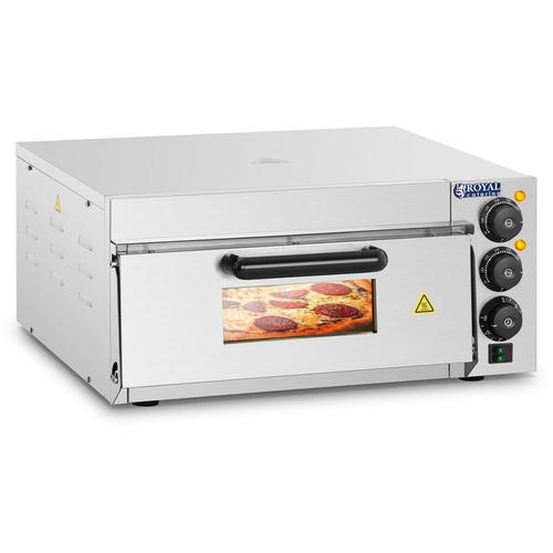 Pizzaofen Pizza Backofen Pizzabackofen Flammkuchen Gastro 2000 W - Royal Catering