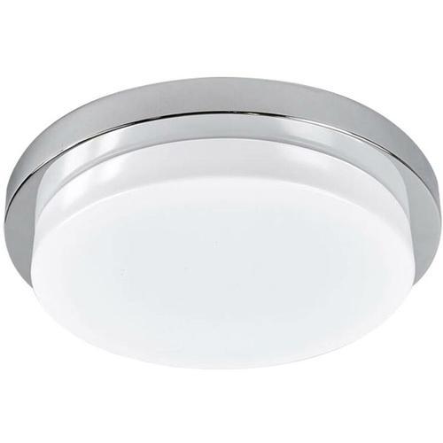 Chromglänzende LED-Deckenleuchte Cordula, IP44