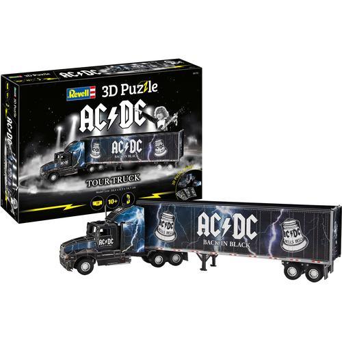 Revell 3D-Puzzle Tour-Truck AC/DC schwarz Kinder 3D Puzzle Gesellschaftsspiele