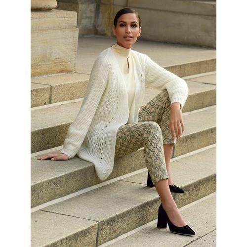 Alba Moda Hose mit Bügelfalte vorne