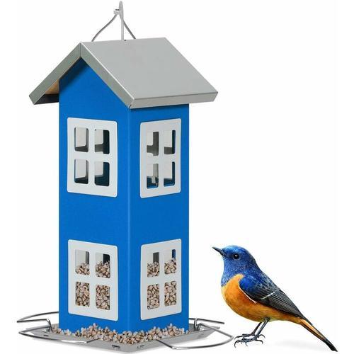 Wildvogel-Futterautomat Haengende Vogelfutterstation Vogelhaus-Futterautomat Vogelfutterspender