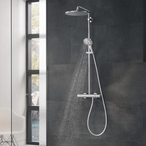 Grohe Rainshower SmartActive 310 Duschsystem, ohne EcoJoy chrom 26647000