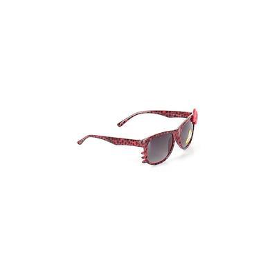 Sunglasses: Red Accessories