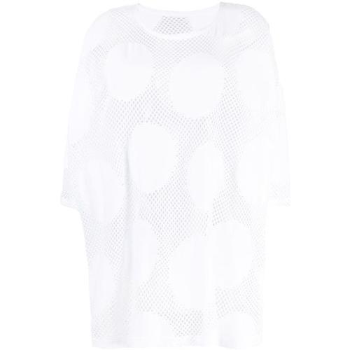 Y's Yohji Yamamoto Gepunktetes T-Shirt
