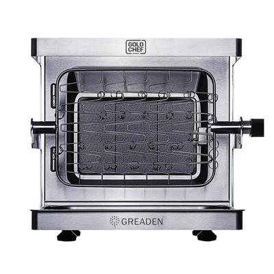 Barbecue à gaz mobile en acier inox