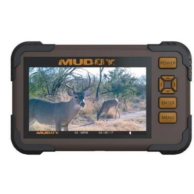 """""""Muddy Flash Memory Card Accessories Sd Card Reader/viewer 4.3'' Lcd Screen 1080p Video"""""""