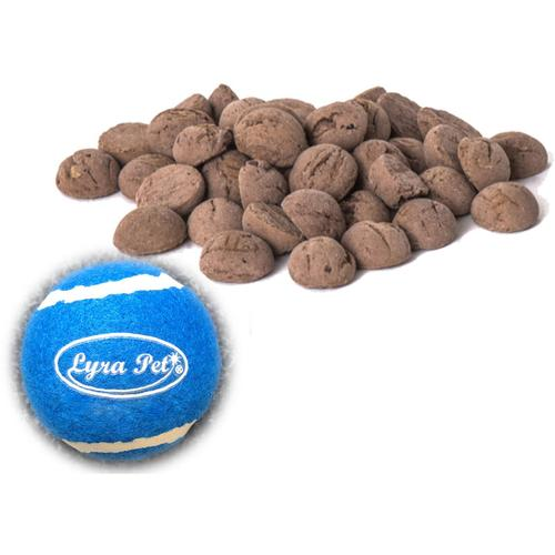 5 kg ® Hundekekse mit Pferd + Tennis Ball - Lyra Pet