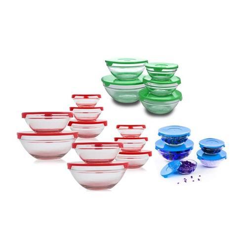 Runde Glasschüssel-Sets: 5