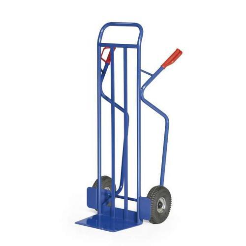 Stahlrohr-Stapelkarre