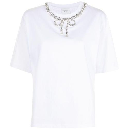 Giambattista Valli T-Shirt mit Kristallen