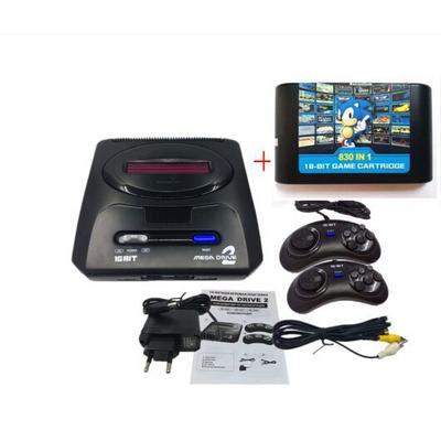 Console de jeu vidéo SEGA MD2 16...
