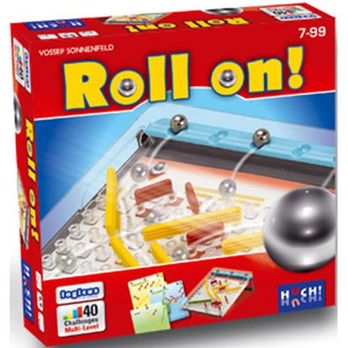 Huch Spiel Roll on bunt Kinder Denkspiele Gesellschaftsspiele