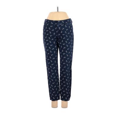 Old Navy Khaki Pant: Blue Print Bottoms - Size 2