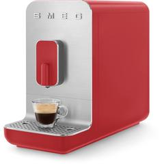 Smeg Kaffeevollautomat BCC01RDMEU, Herausnehmbare Brüheinheit rot Kaffee Espresso SOFORT LIEFERBARE Haushaltsgeräte