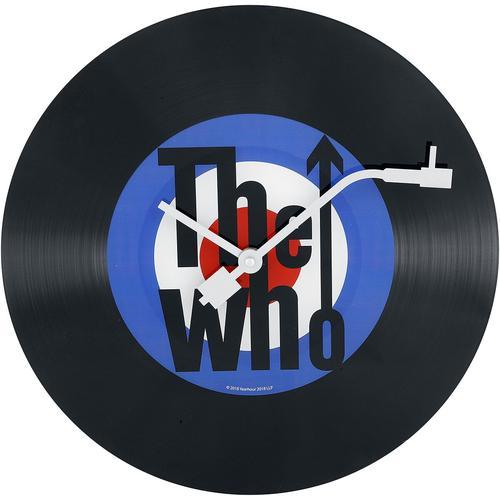 The Who Wanduhr - schwarz - Offizielles Merchandise