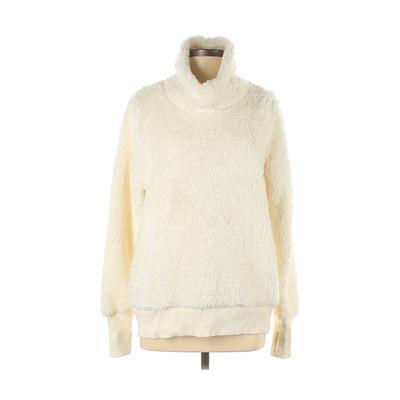 Deane and White Sweatshirt: Ivory Solid Clothing - Size Medium