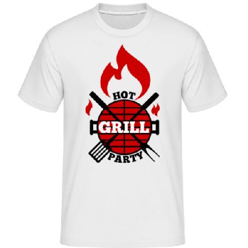 Grill Party Icon - Shirtinator Männer T-Shirt