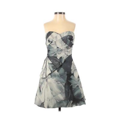 Karen Millen Cocktail Dress - A-Line: Gray Dresses - Used - Size 4