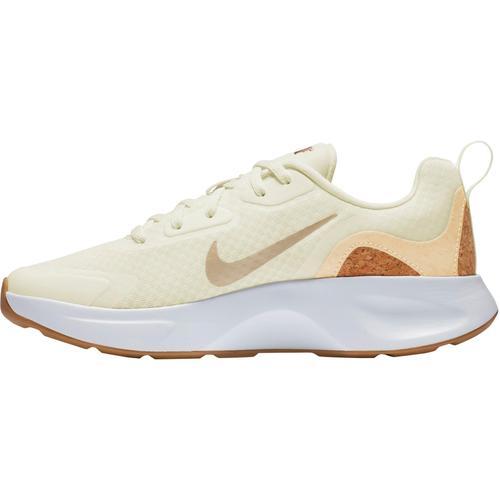 Nike Wearallday Sneaker Damen in sail-pale vanilla-praline-white, Größe 38 1/2