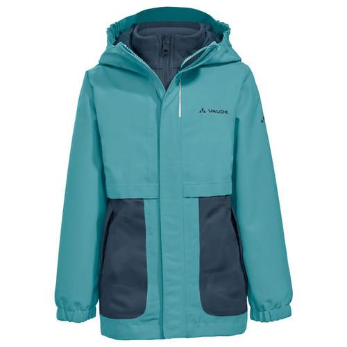Kids Campfire 3in1 Jacket Girls, grün, Gr. 104