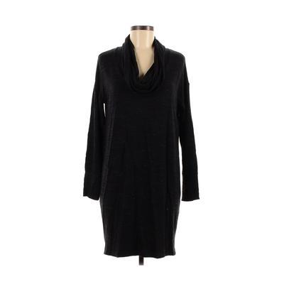Kenar - Kenar Casual Dress - Sweater Dress: Black Solid Dresses - Used - Size Medium