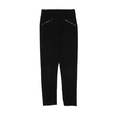 Old Navy Leggings: Black Solid Bottoms - Size 8