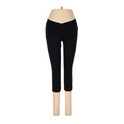 Performance Women's Wear Active Pants - Low Rise: Black Activewear - Size Medium