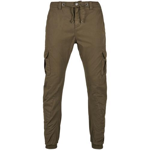 Urban Classics Cargo Jogging Pants Herren-Cargohose - oliv