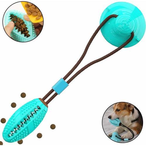 Hundespielzeug mit Saugnapf Ziehspielzeug Hund Ball Kauspielzeug Multifunktions-Spielzeug für