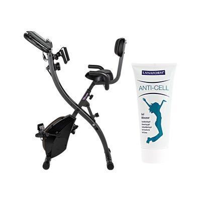 slim cycle vélo d'appartement + slimming gel 200ml