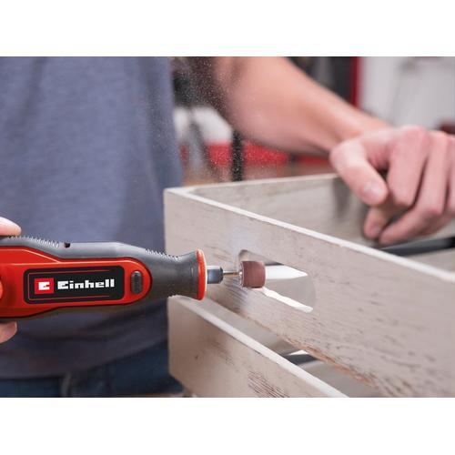Einhell Akku-Multischleifer Akku-Schleif-/ Gravur-Werkzeug TE-MT 7,2 Li rot Schleifer Werkzeug Maschinen