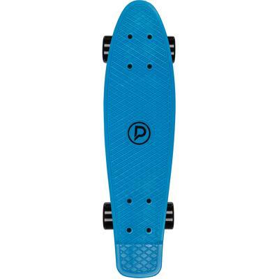 Playlife Shortboard Vinylboard blau Kinder Skateboards Waveboards Kinderfahrzeuge