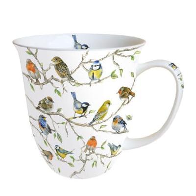 Deco Home & Garden - Mug Birds
