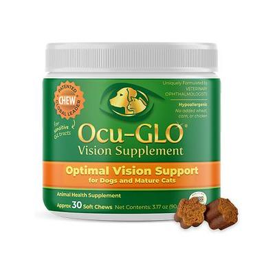 Animal Necessity Ocu-GLO Optimal Vision Support Soft Chew Dog & Cat Supplement, 30 count