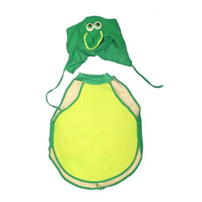 Costume: Green Solid Accessories - Size Large
