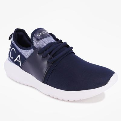 Nautica Women's Kappil Perforated Sneakers Navy, 7 1/2