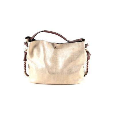 Handbag Republic Satchel: Gold Solid Bags