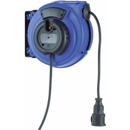 Federzugtrommel Elektro 15m Kabeltrommel 150° schwenkbar Stromkabel - Hedi