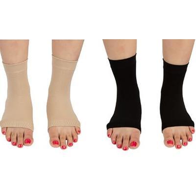 Paire de chaussettes unisexes Pro 11 Wellbeing pour la fasciite plantaire : Taille S / Chair / x 2