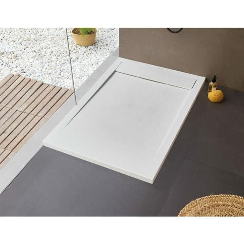 BB NEW YORK Rechteckige Duschwanne 170 x 70 cm weiß