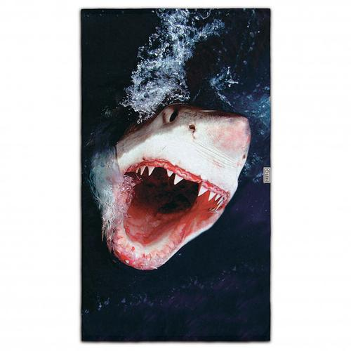 LEUS - Beach ECO Towel - Badehandtuch Gr 148 x 84 cm weiß