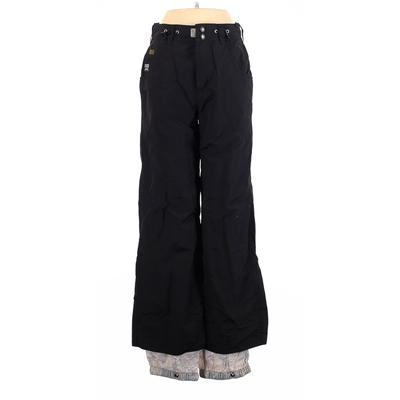 Roxy Snow Pants - High Rise: Black Activewear - Size Small