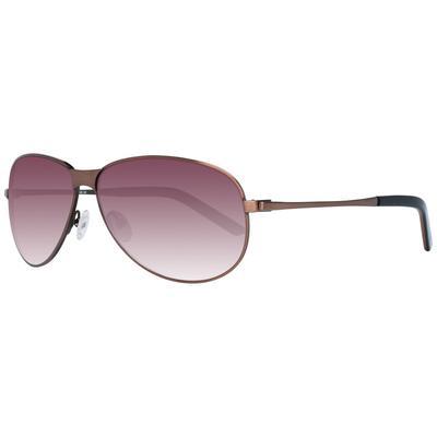 More&More Styleuses lunettes de soleil Hommes en marron avec protection 100% UVA&UVB