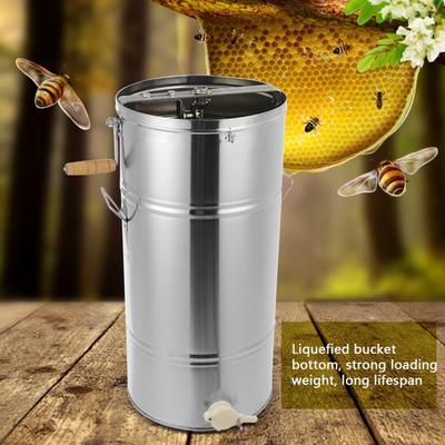 Extracteur manuel de miel d'abei...